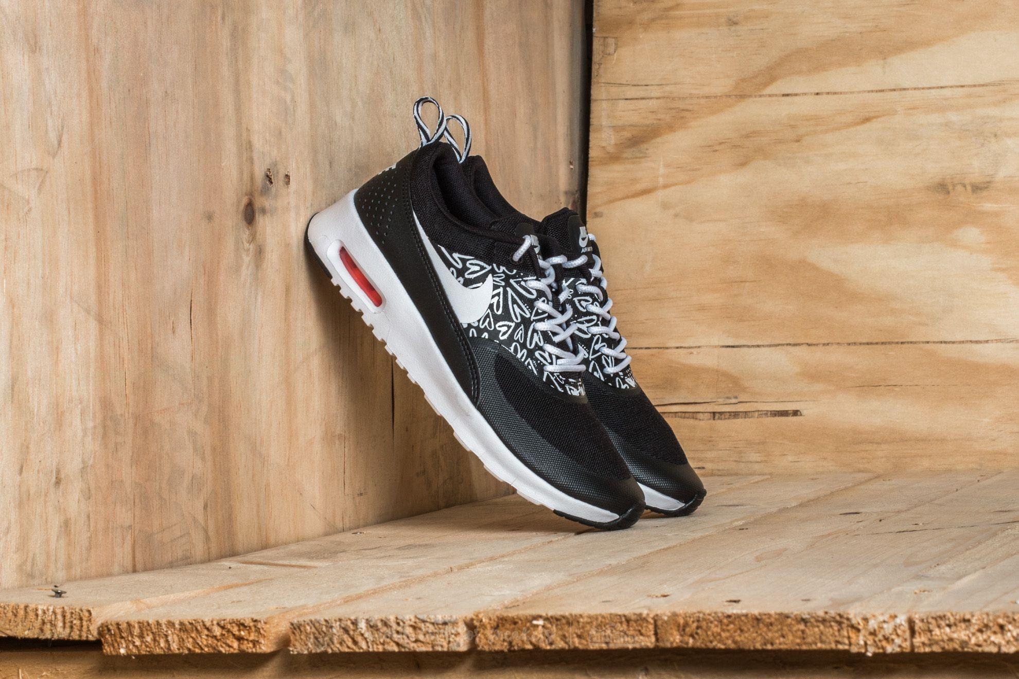 new concept e8ae7 92703 Nike Air Max Thea Print (GS) Black/ White-Lava Glow | Footshop
