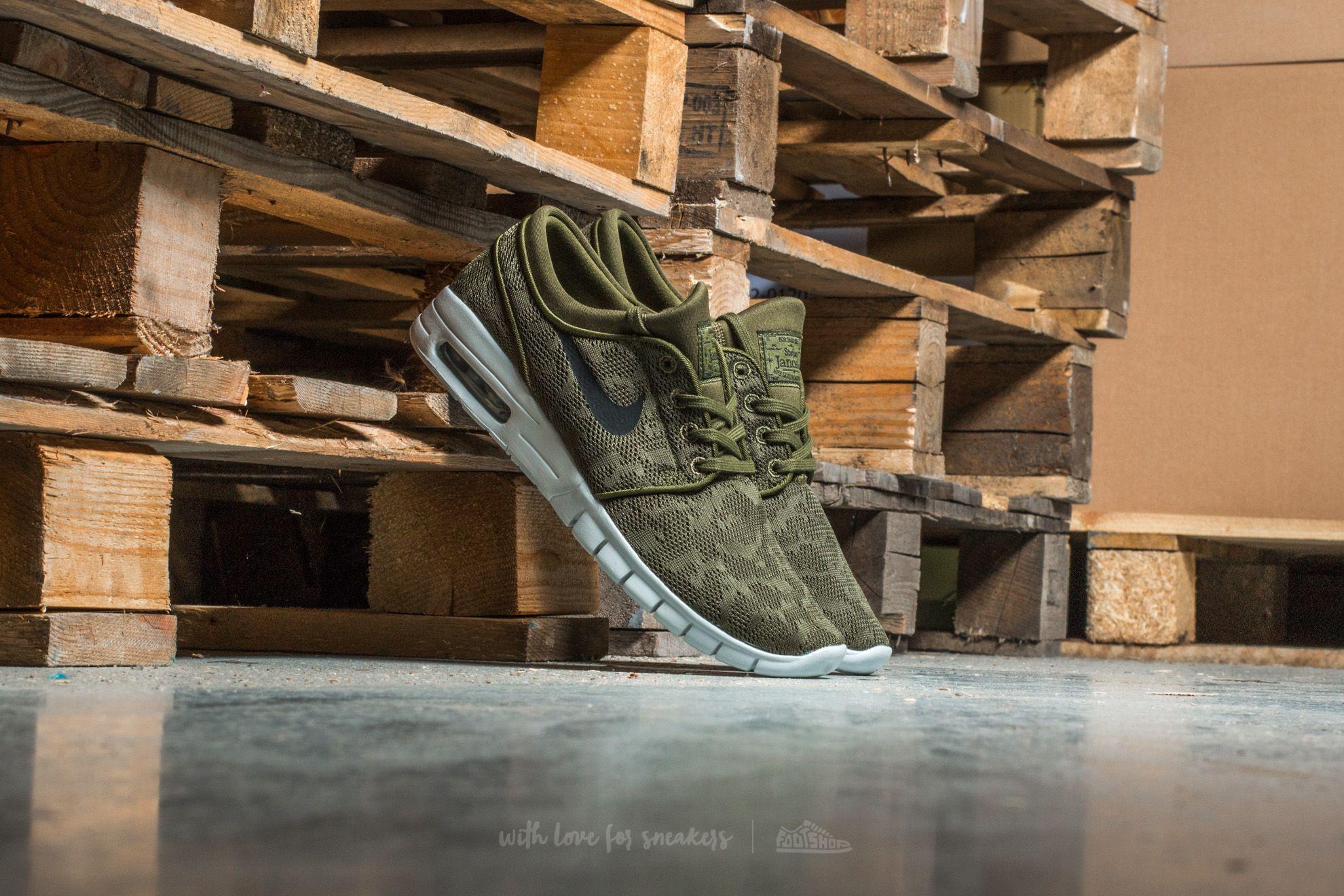 Nike Stefan Janoski Max Legion Green  Black  3fb38c4095cb1