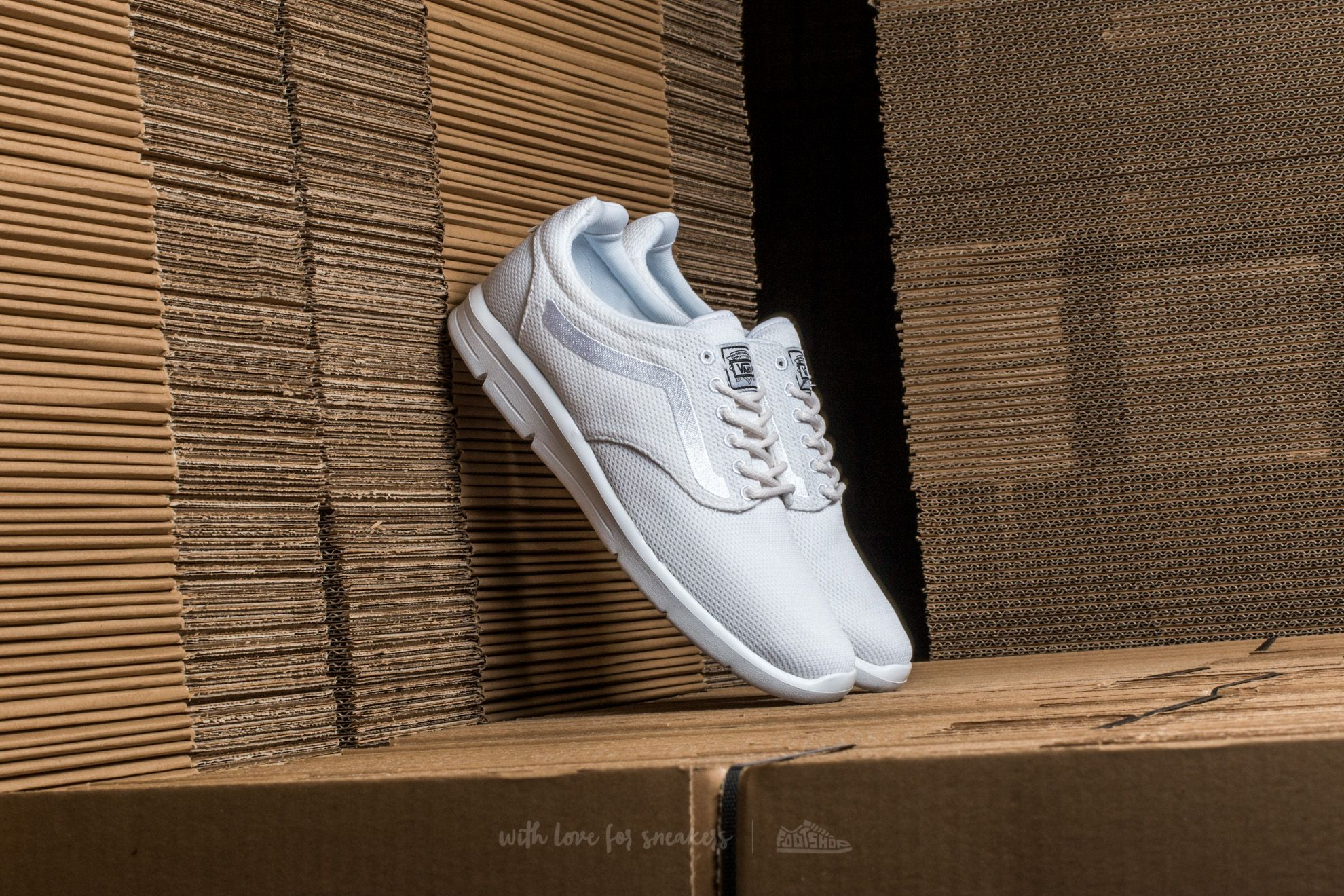 Men's shoes Vans Iso 1.5 (Mesh) True White