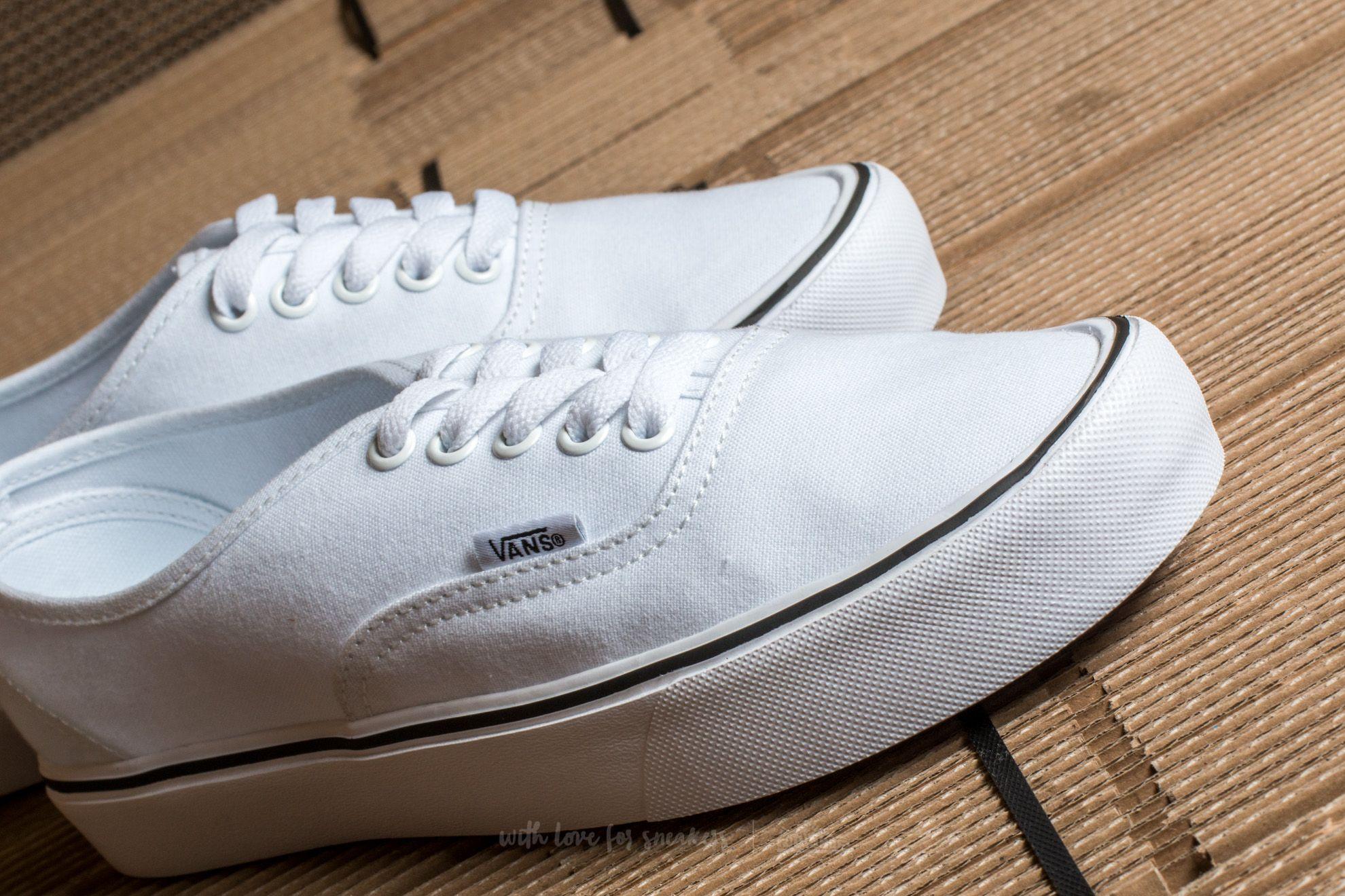 Vans Authentic Lite (Canvas) True White | Footshop