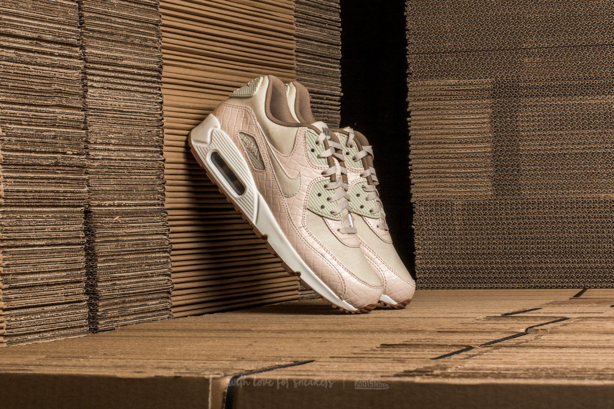 Nike Wmns Air Max 90 Premium Oatmeal/ Oatmeal-Sail-Khaki
