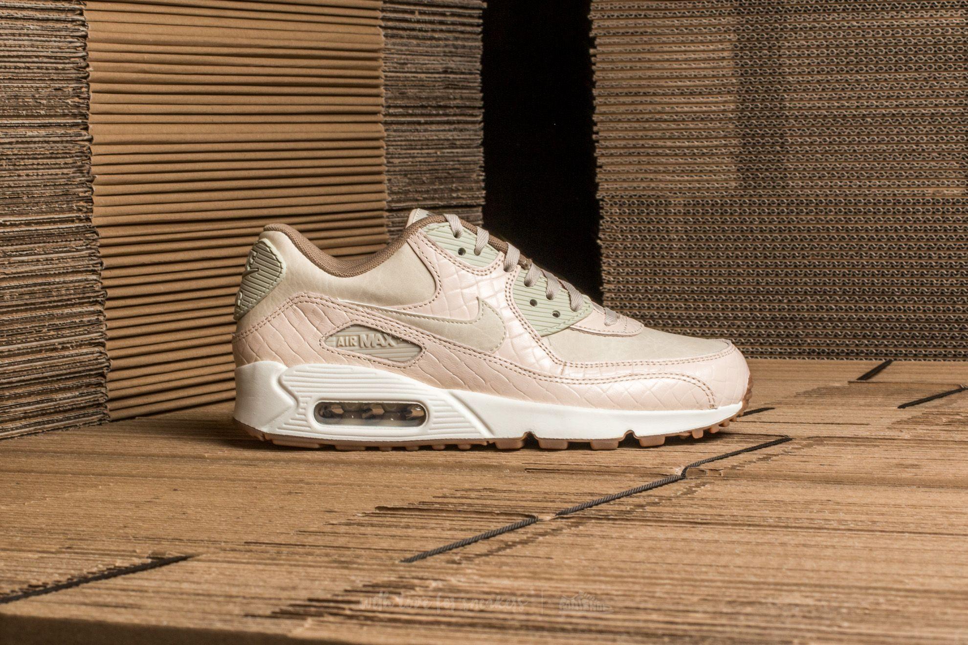 Nike Damen Sneaker Air Max 90 PREM OatmealOatmeal Sail Khaki