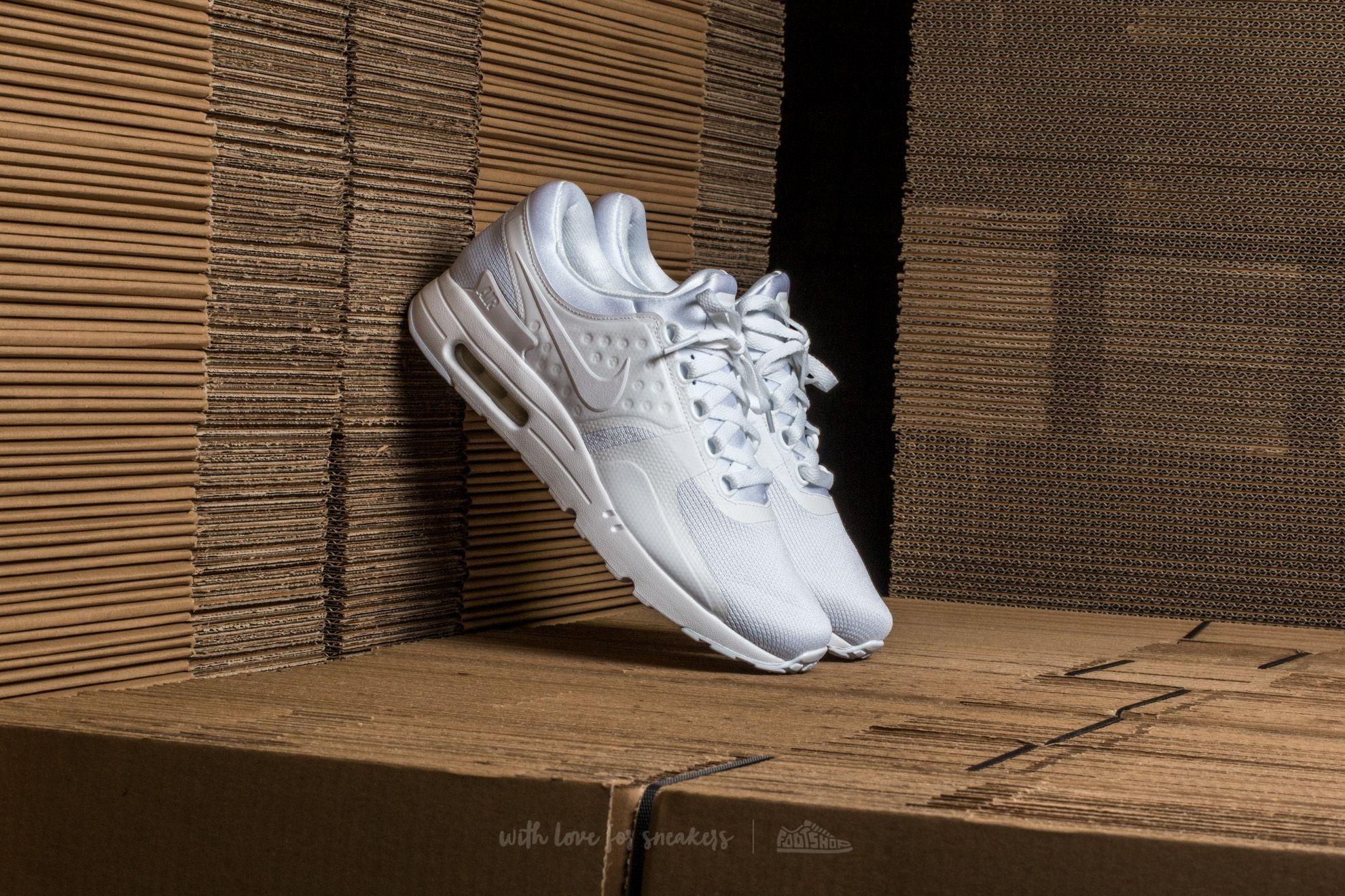Pánske tenisky a topánky Nike Air Max Zero Essential White/ White-Wolf Grey
