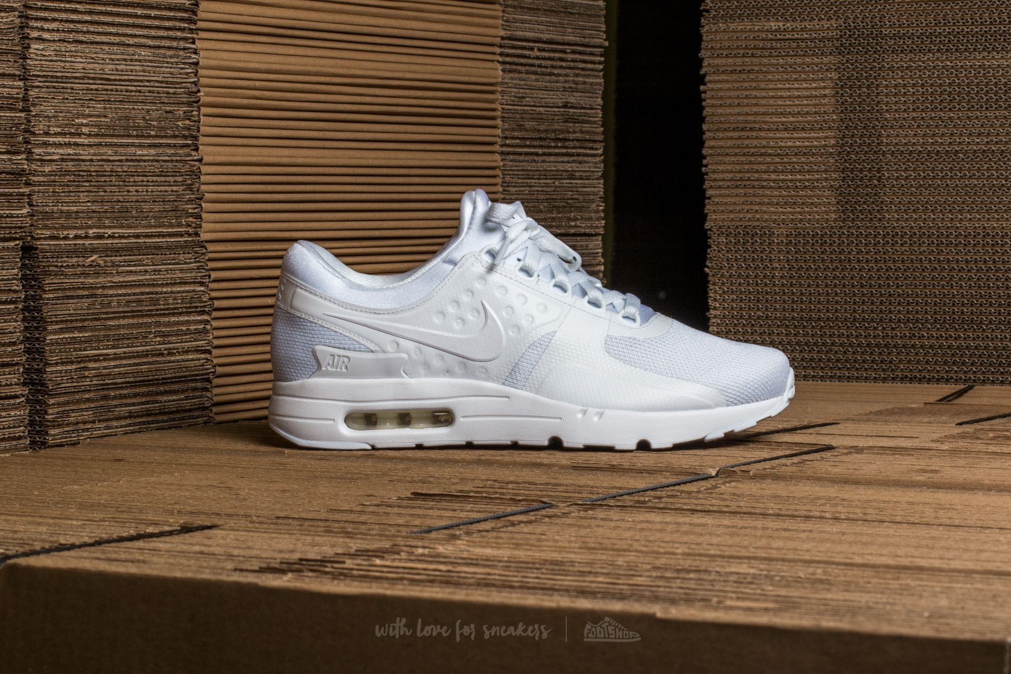 buy popular f7d3a 4c7f2 Nike Air Max Zero Essential White White-Wolf Grey at a great price 139