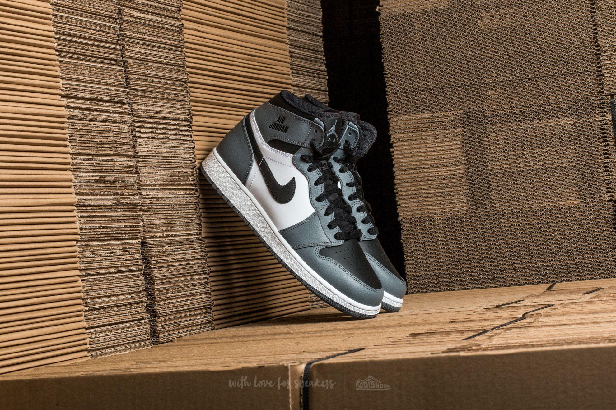 443ff2d20d53 Air Jordan 1 Retro High (BG) Cool Grey  Cool Grey-White