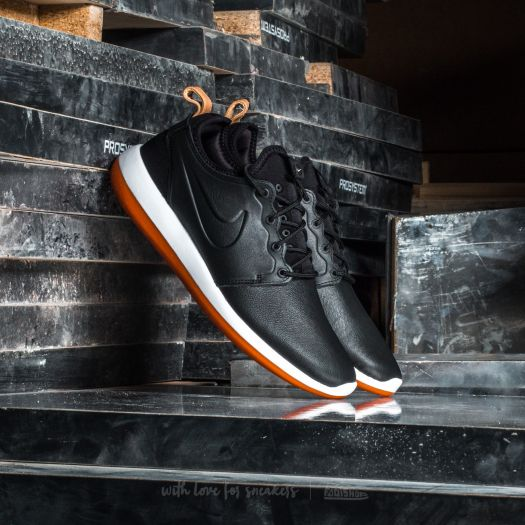 sale retailer 90a16 28fe6 Nike Roshe Two Leather Premium Black/ Black-White ...