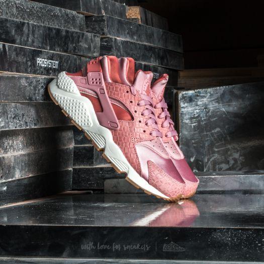 Women S Shoes Nike Wmns Air Huarache Run Premium Pink Glaze Pearl Pink Sail Footshop