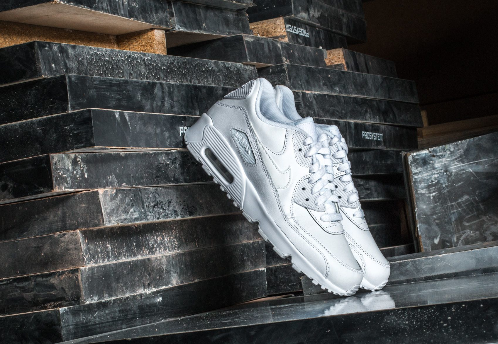 Nike Air Max 90 Ltr (GS) White/ White EUR 39