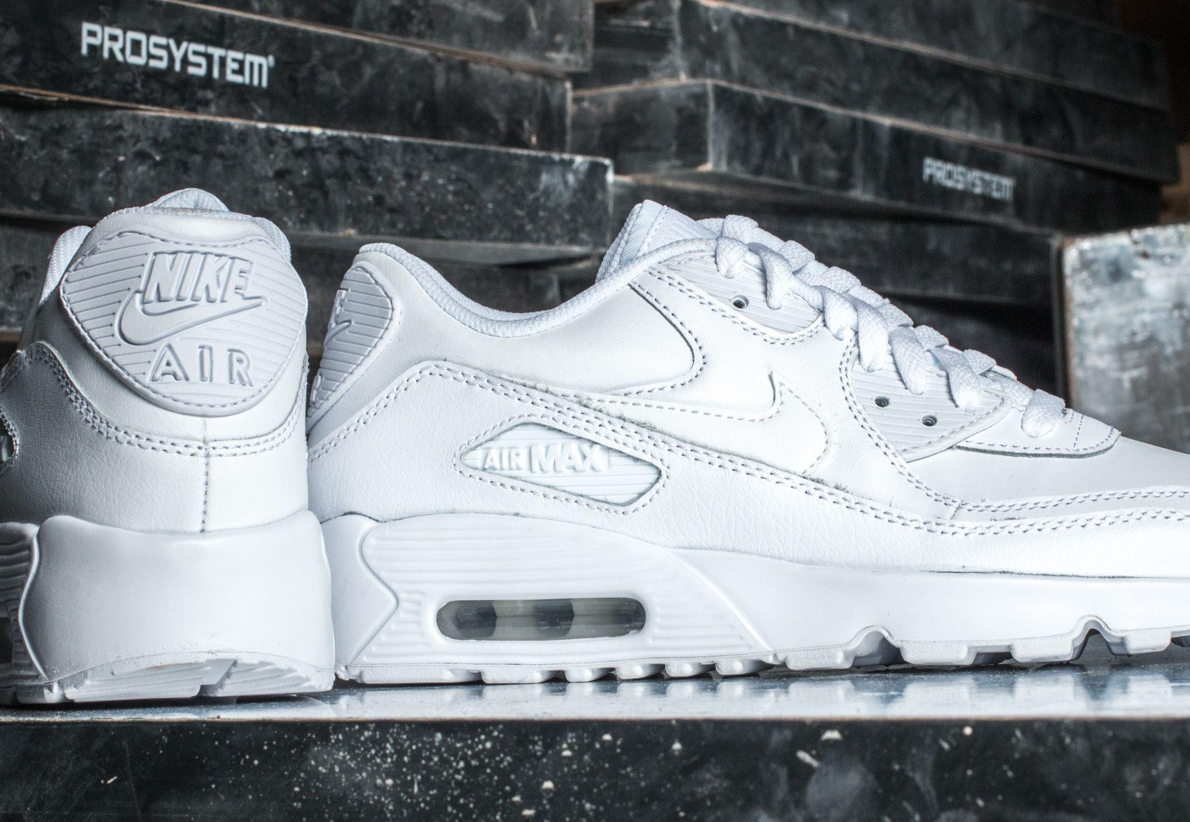 Nike Air Max 90 Ltr (GS) White/ White