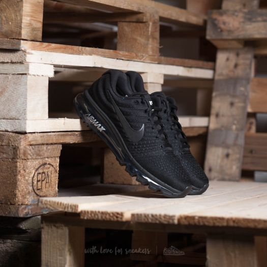 wholesale dealer c07bf 3e8e2 Nike Air Max 2017 Black/ Black-Black | Footshop