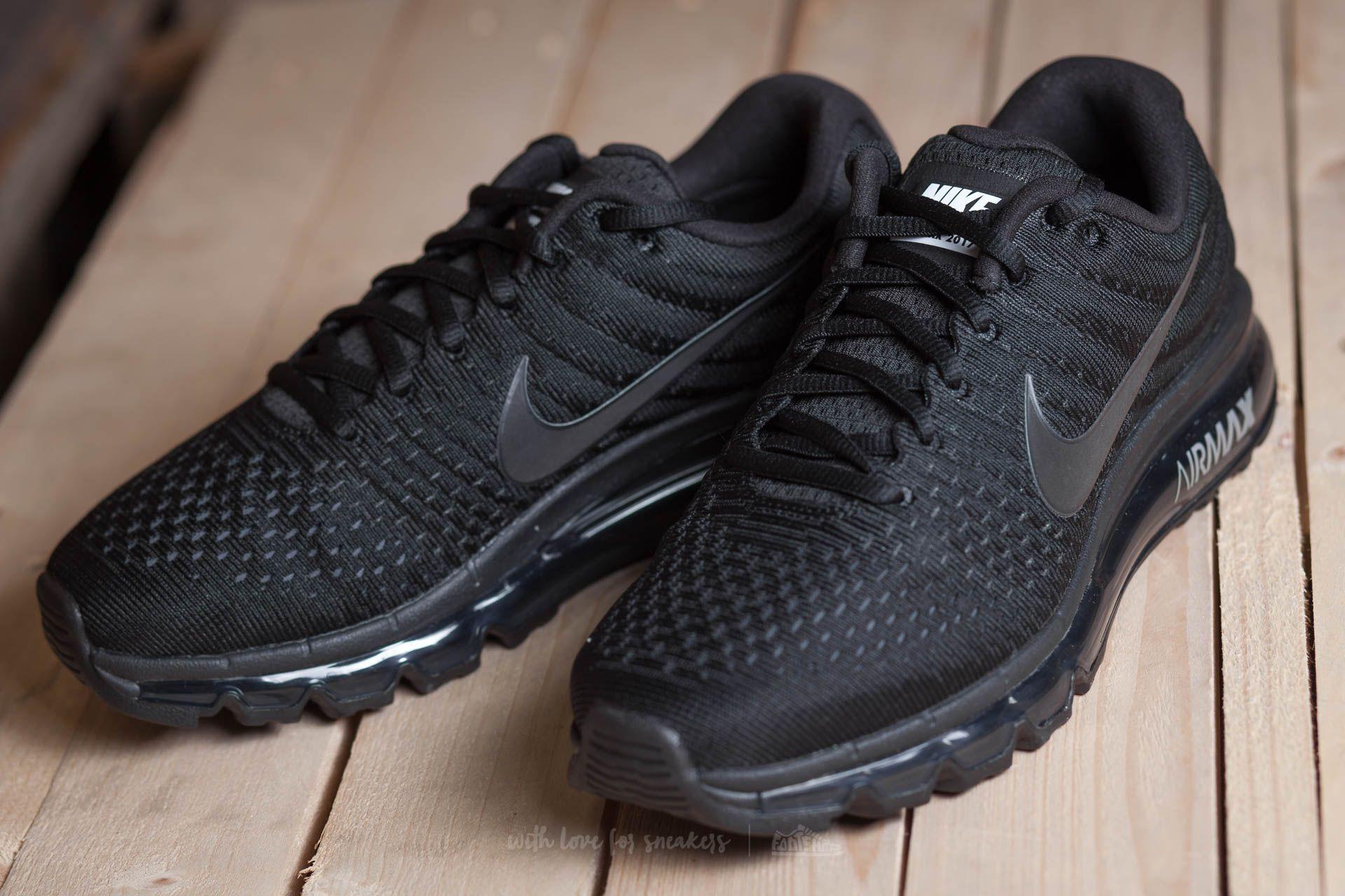 wholesale dealer b38c6 69ba7 Nike Air Max 2017 Black/ Black-Black | Footshop