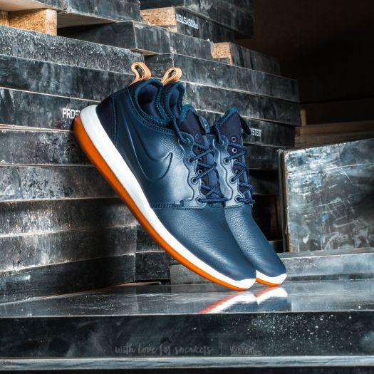 new style 4562a 644cc Nike Roshe Two Leather Premium Obsidian/ Obsidian-White ...