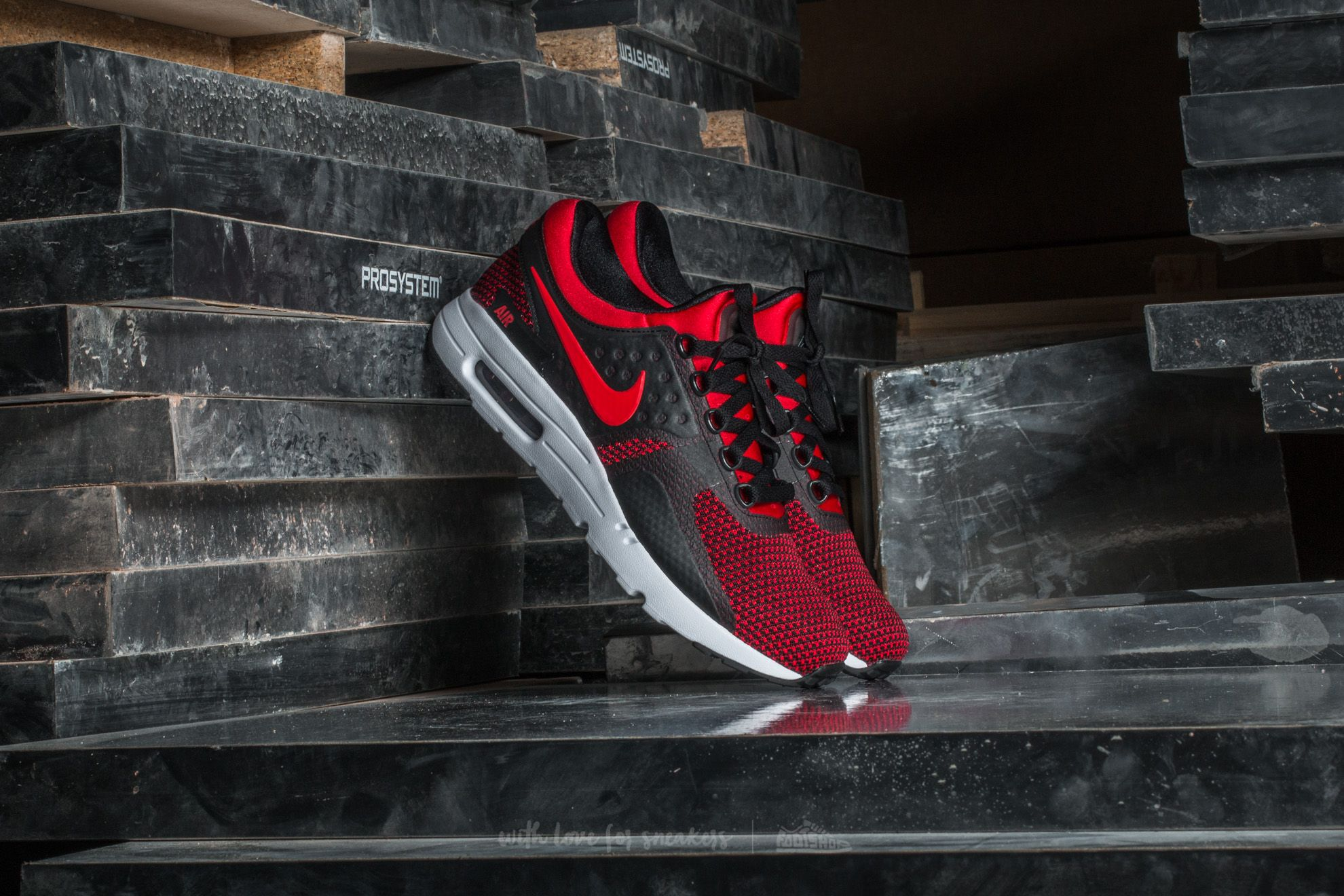cd43c355070d Nike Air Max Zero Essential University Red  University Red