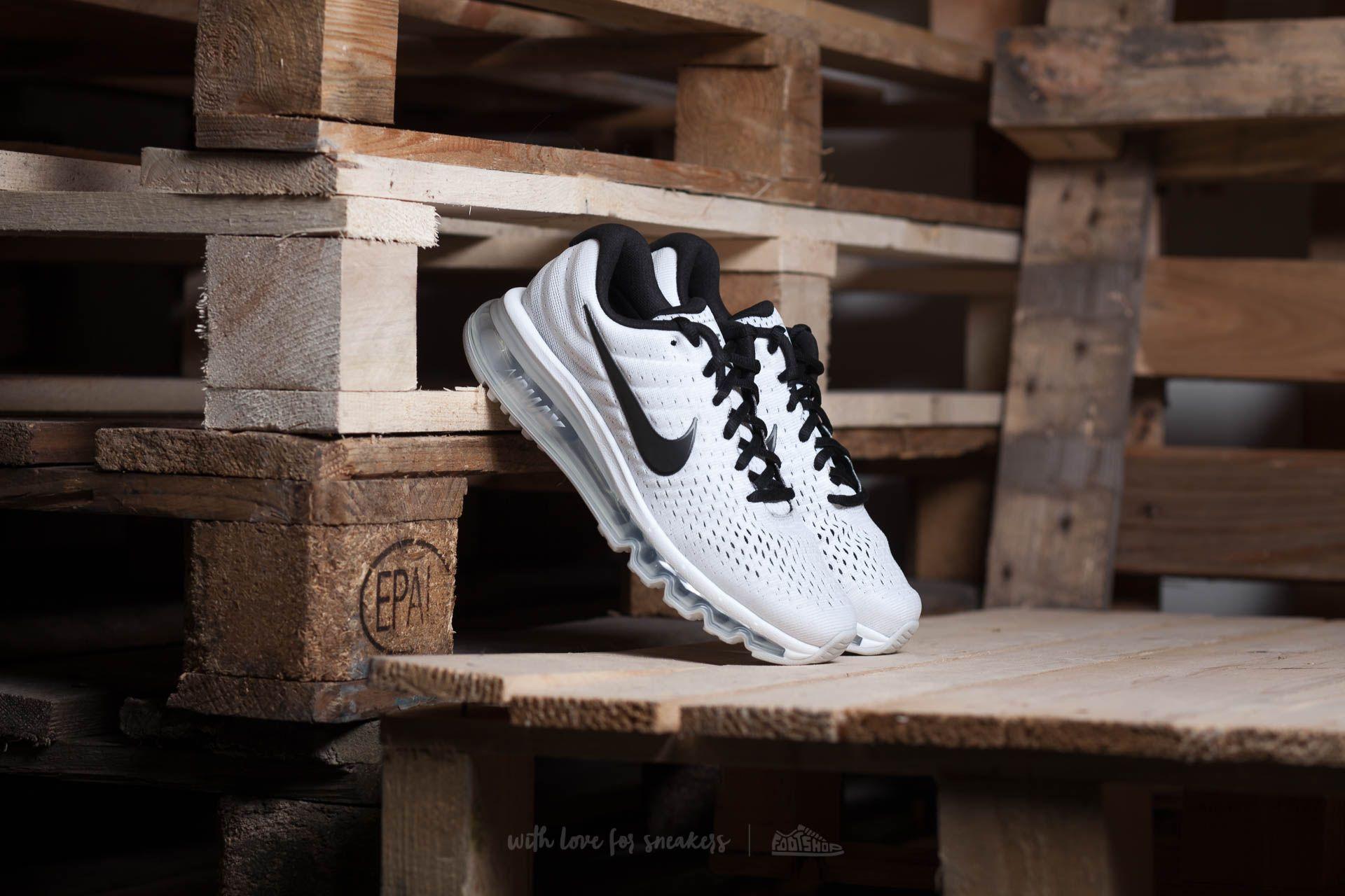 Nike Wmns Air Max 2017 White Black Pure Platinum   Footshop