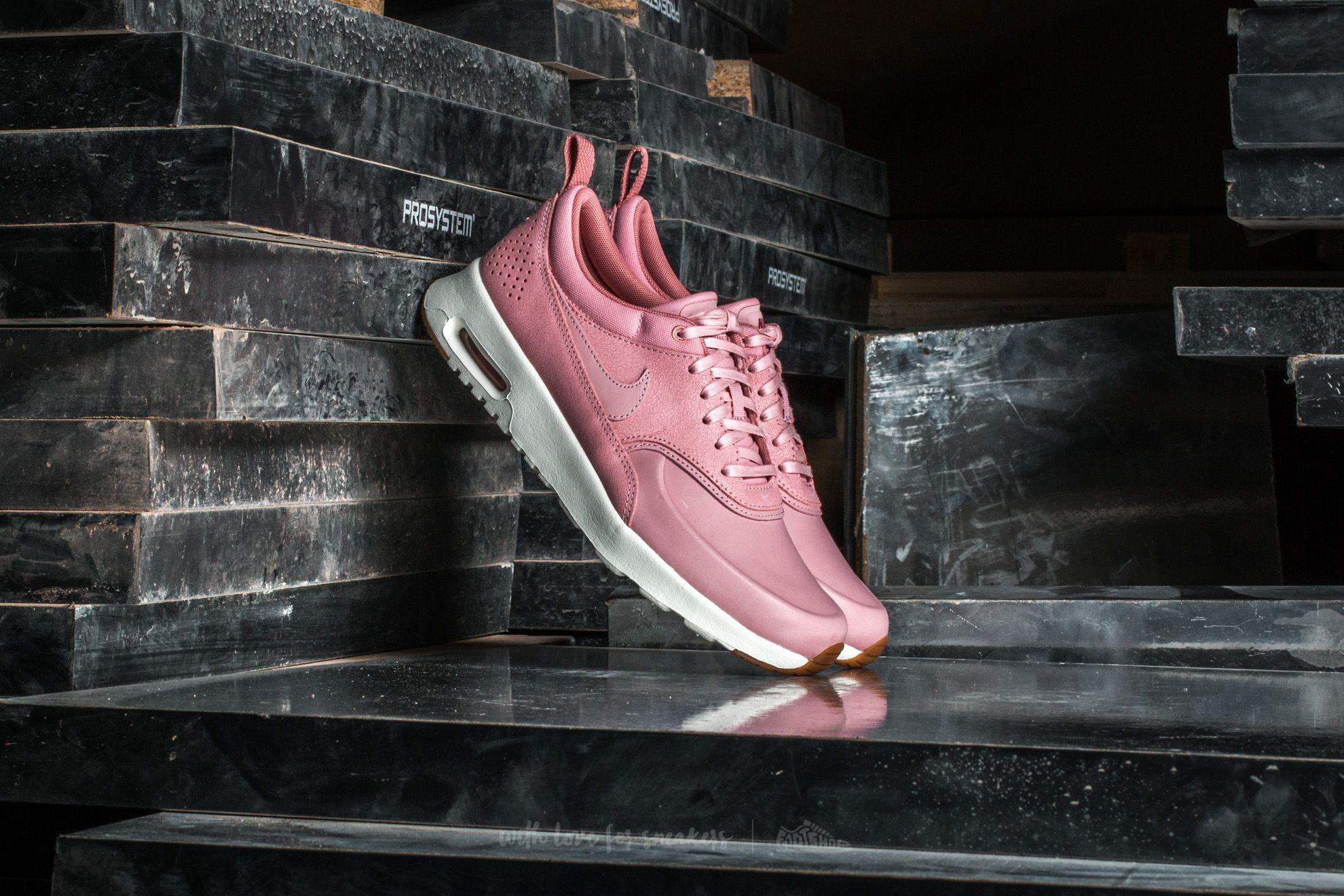 Nike Wmns Air Max Thea Premium Pink Glaze Pink Glaze Sail | Footshop