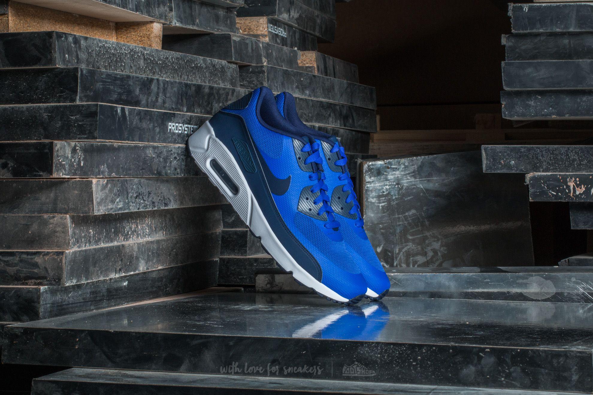 2591e429054c Nike Air Max 90 Ultra 2.0 Essential Paramount Blue  Binary Blue ...