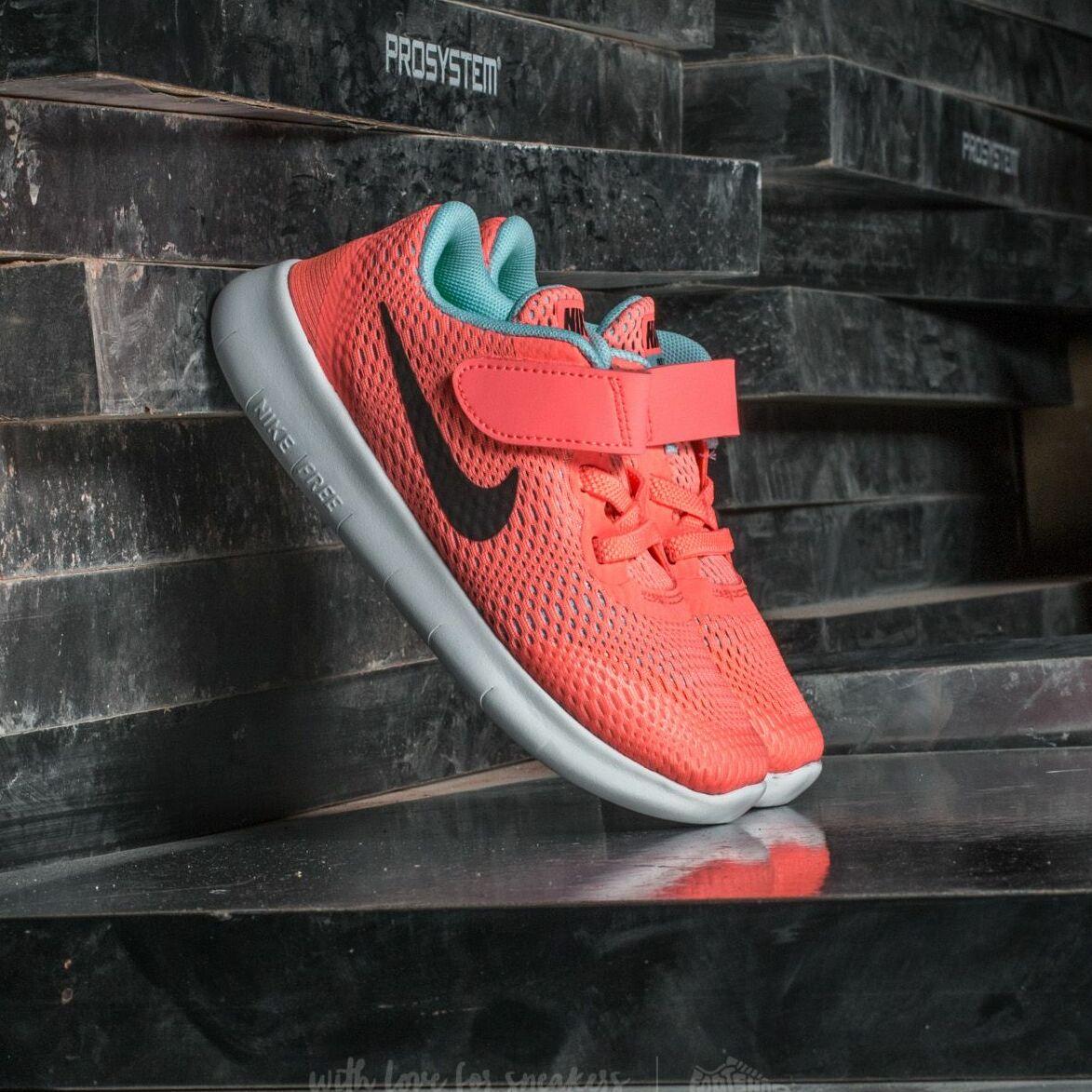 Nike Free Run (TDV) Lava Glow/ Metallic Silver EUR 17
