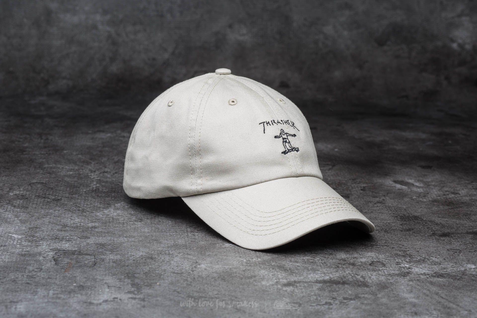 d86c2b9e49222 Thrasher Gonz Old Timer Hat Tan  Black
