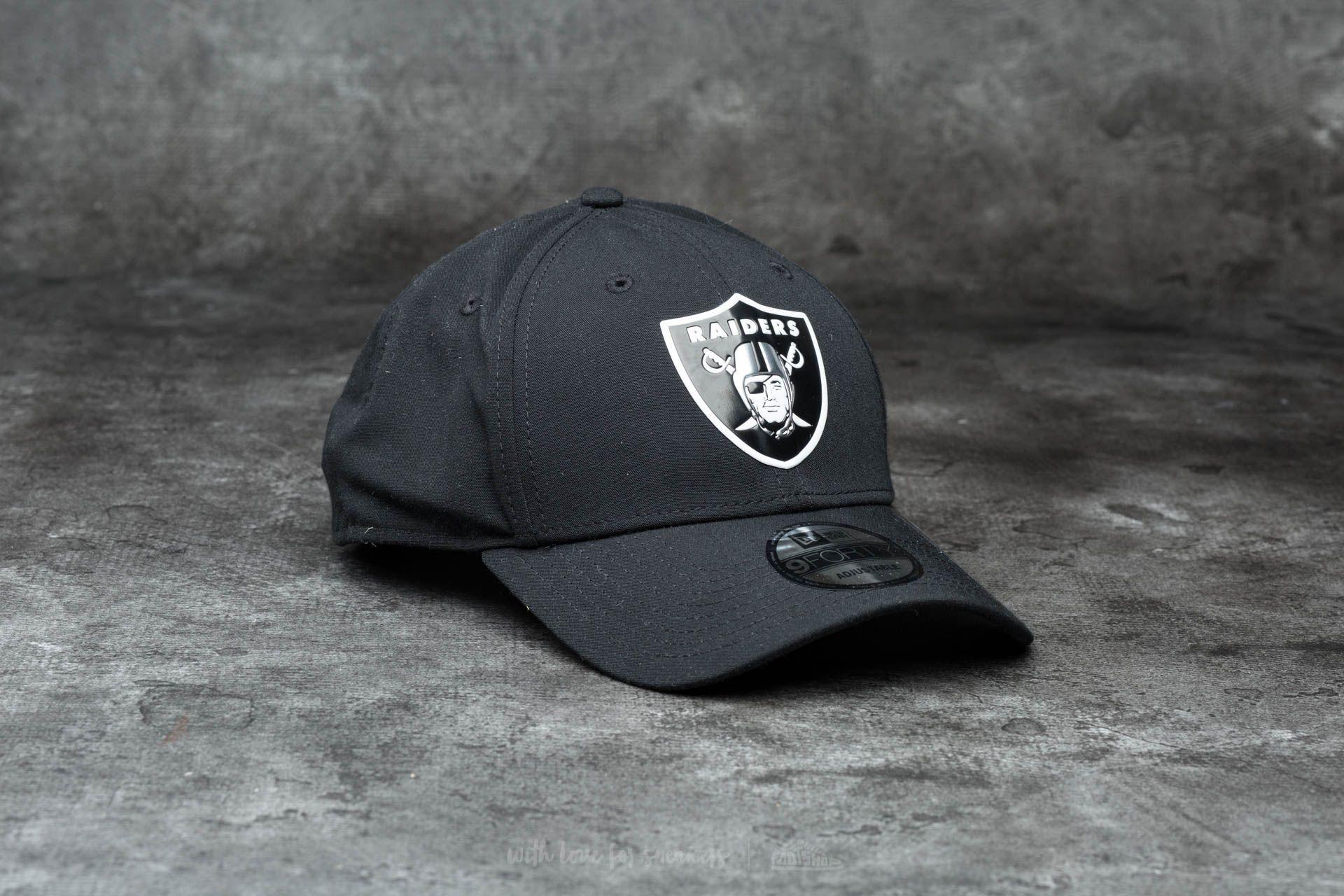 688479c46a3b New Era 9Forty Poly Weld Oakland Raiders Black | Footshop