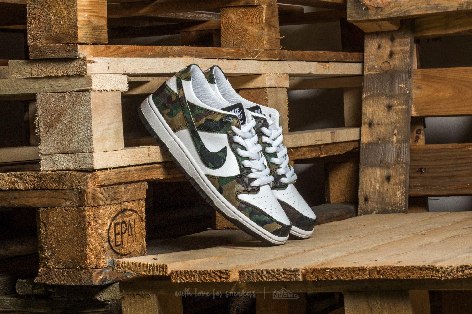 6399fecfd8697 Nike Sb Zoom Dunk Low Pro Legion Green/ Legion Green   Footshop