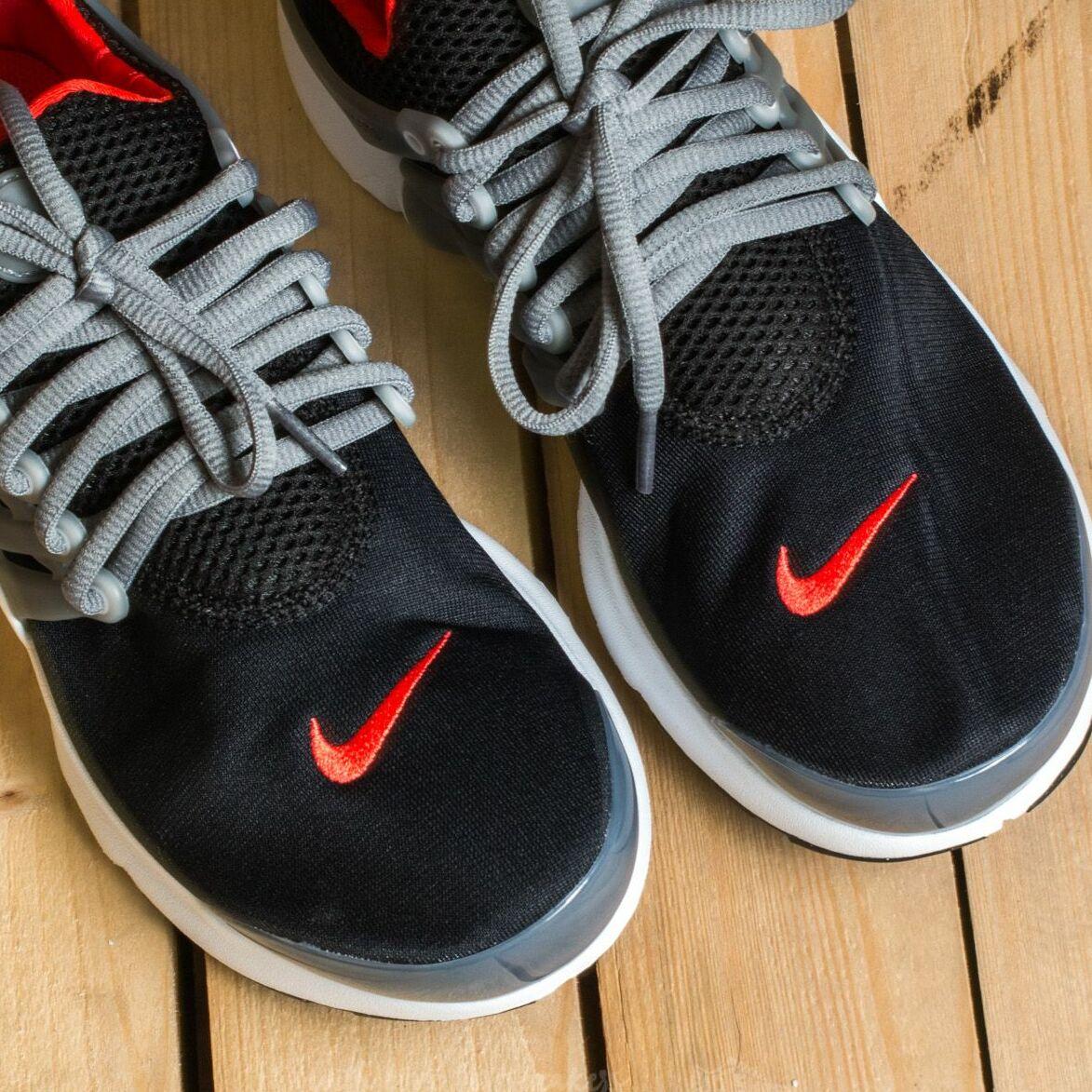 Nike Presto (GS) Black/ Max Orange-Cool Grey EUR 40