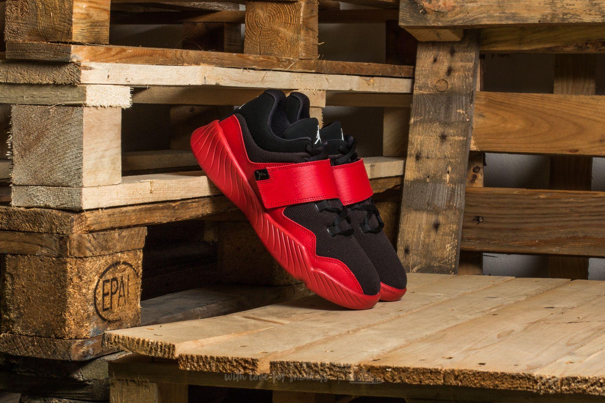 bd008e5f443 Jordan J23 BG Black  White-Gym Red