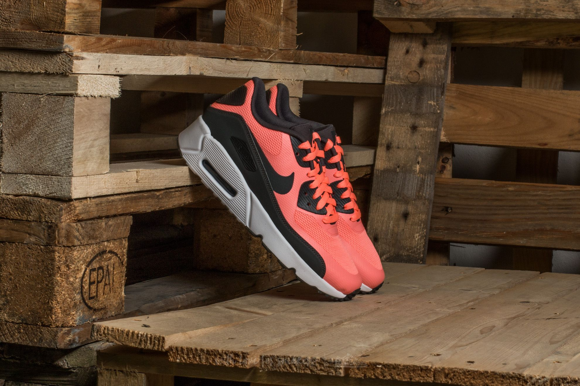 the best attitude 74784 492c3 Nike Air Max 90 Ultra 2.0 (GS) Lava Glow  Anthracite-White