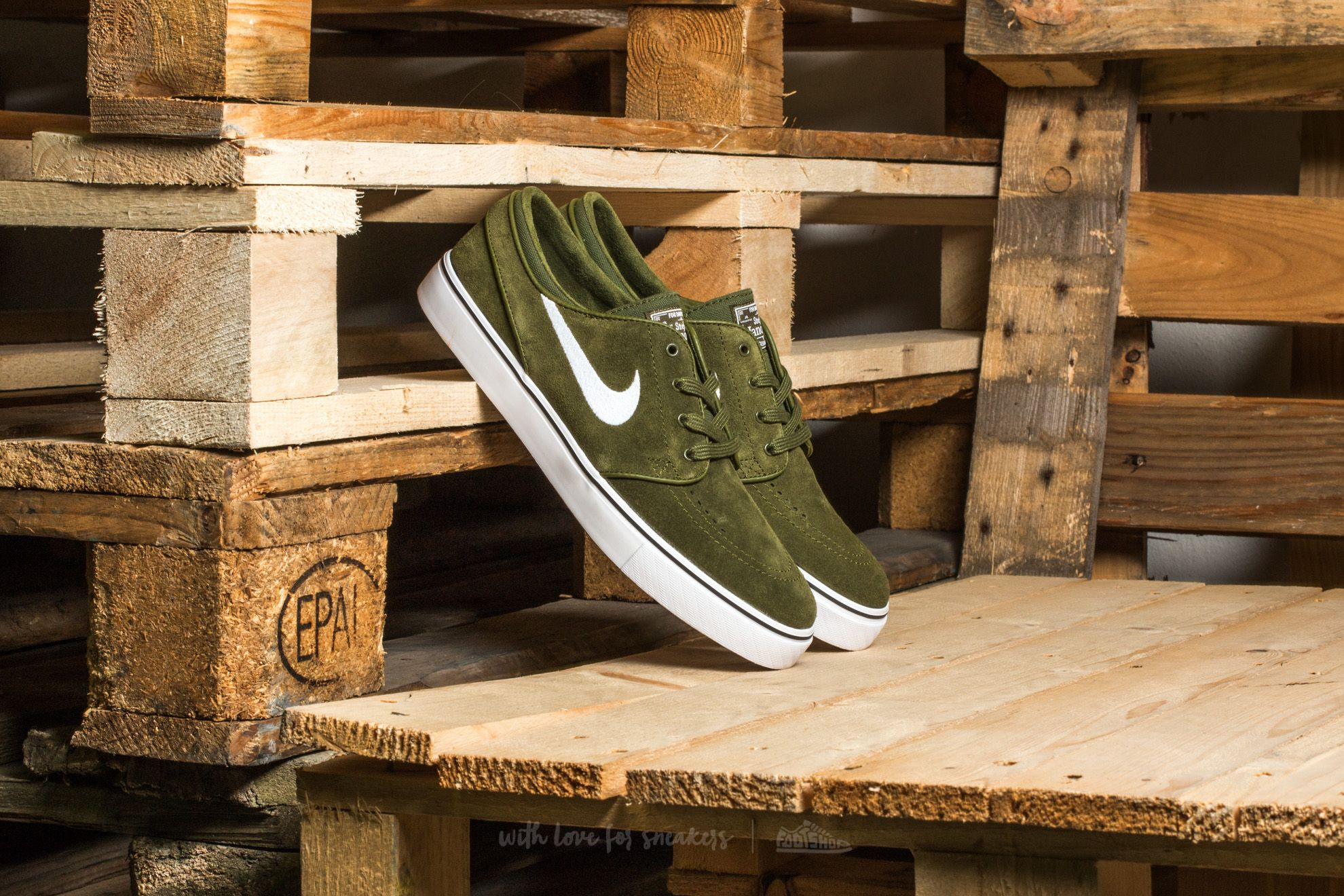 Nike Zoom Stefan Janoski Legion Green/ White-Black