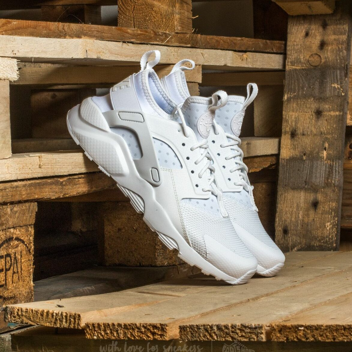 Nike Air Huarache Run Ultra Gs White/ White-White EUR 39