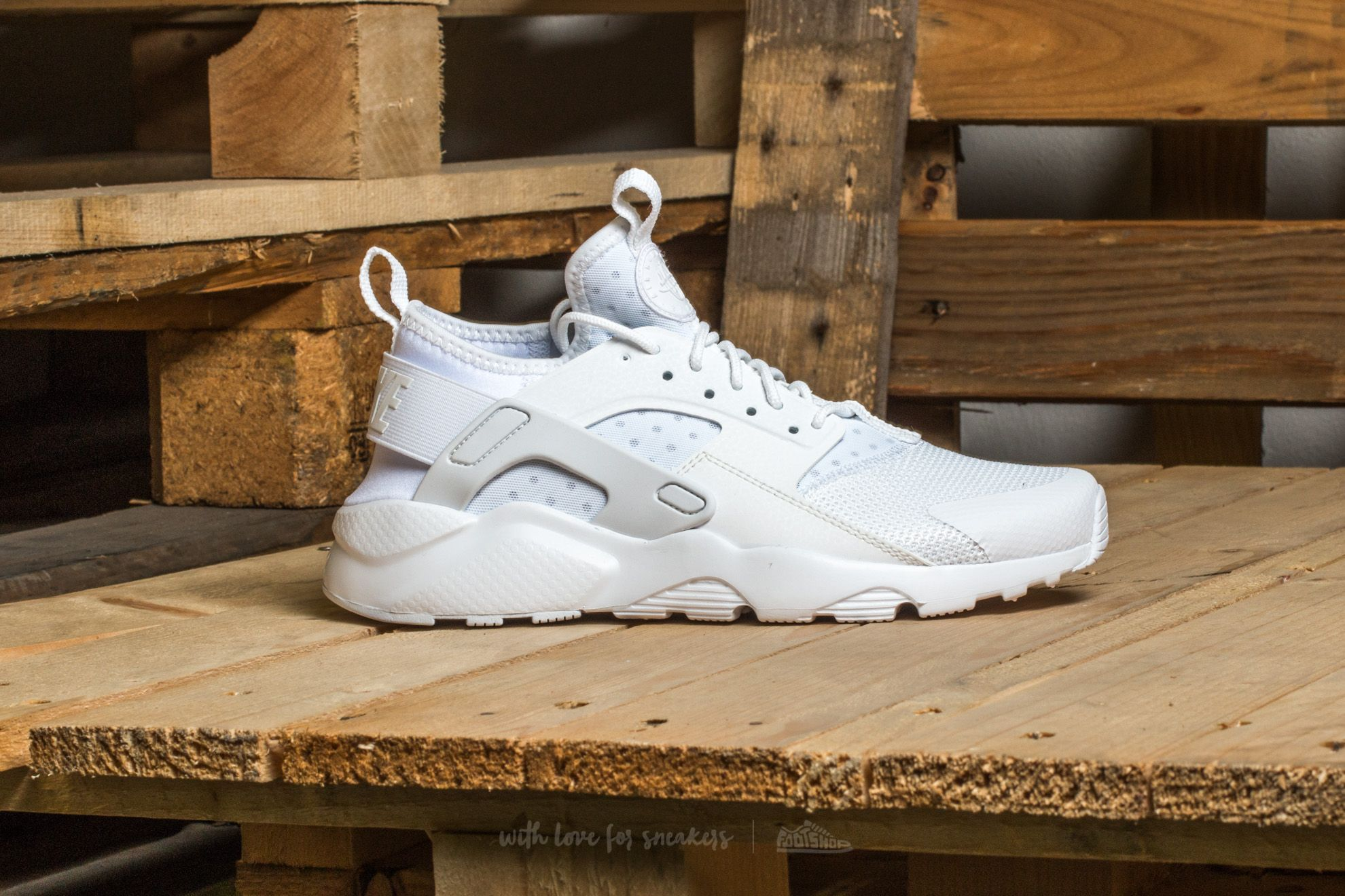 Nike Air Huarache Run Ultra Gs White  White-White at a great price 106 0e33d4fa290