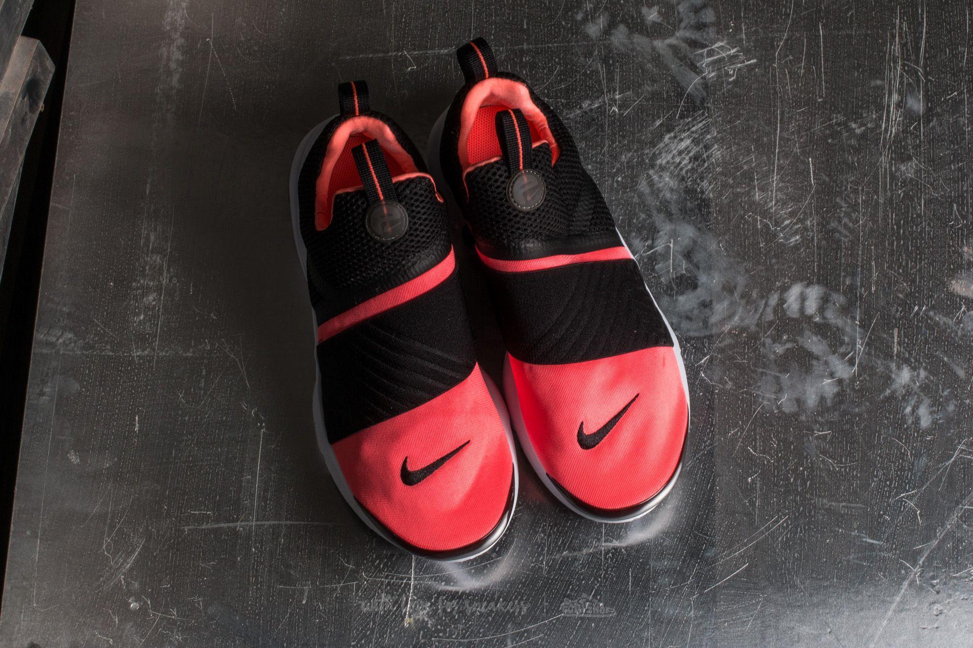 Nike Presto Extreme (GS) Black Black Lava Glow White | Footshop