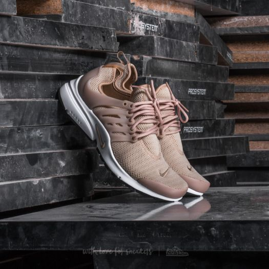 new lifestyle superior quality sneakers for cheap Nike W Air Presto Linen/ Linen-Black-White | Footshop