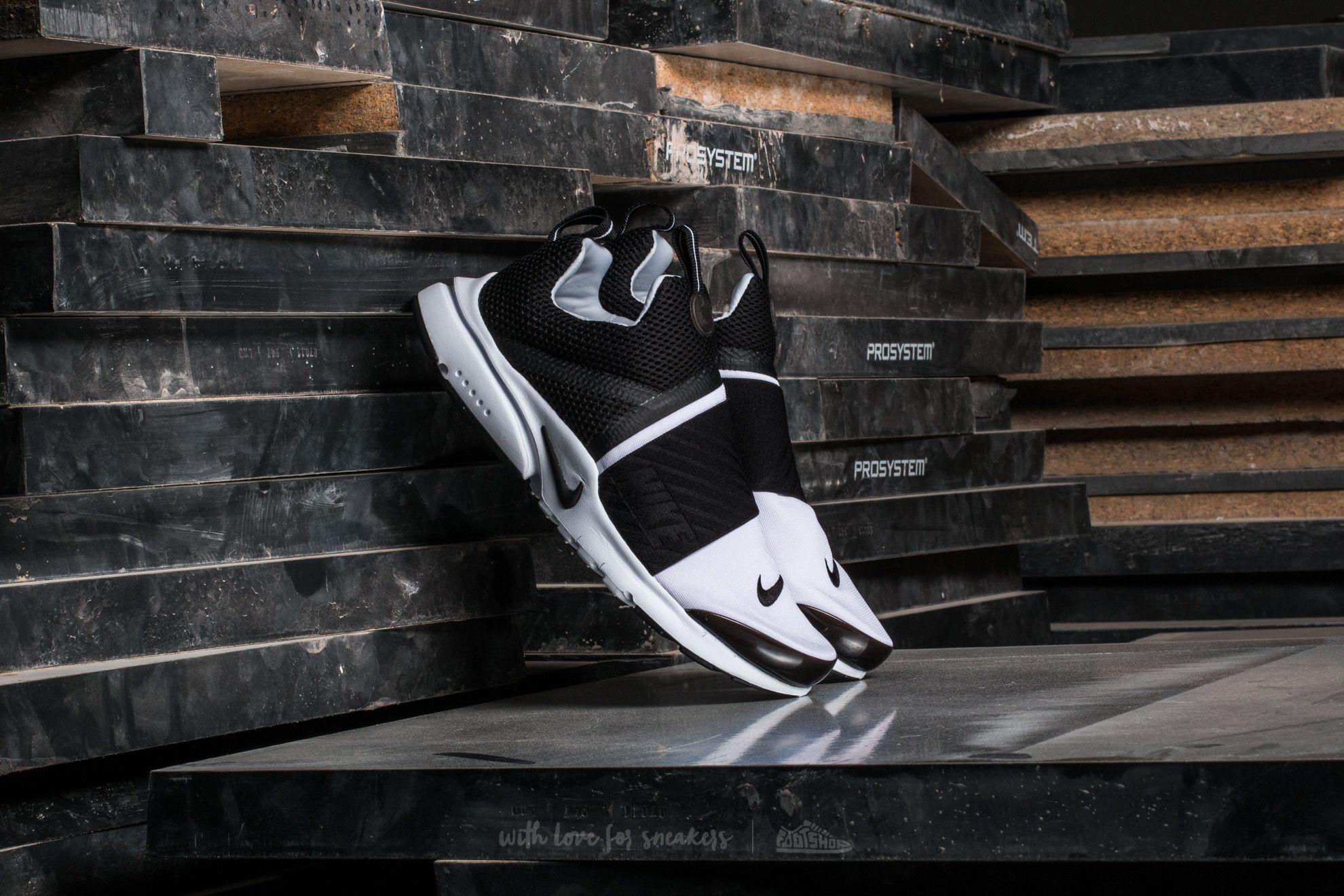 6542b9e38006 Nike Presto Extreme (GS) White  Black