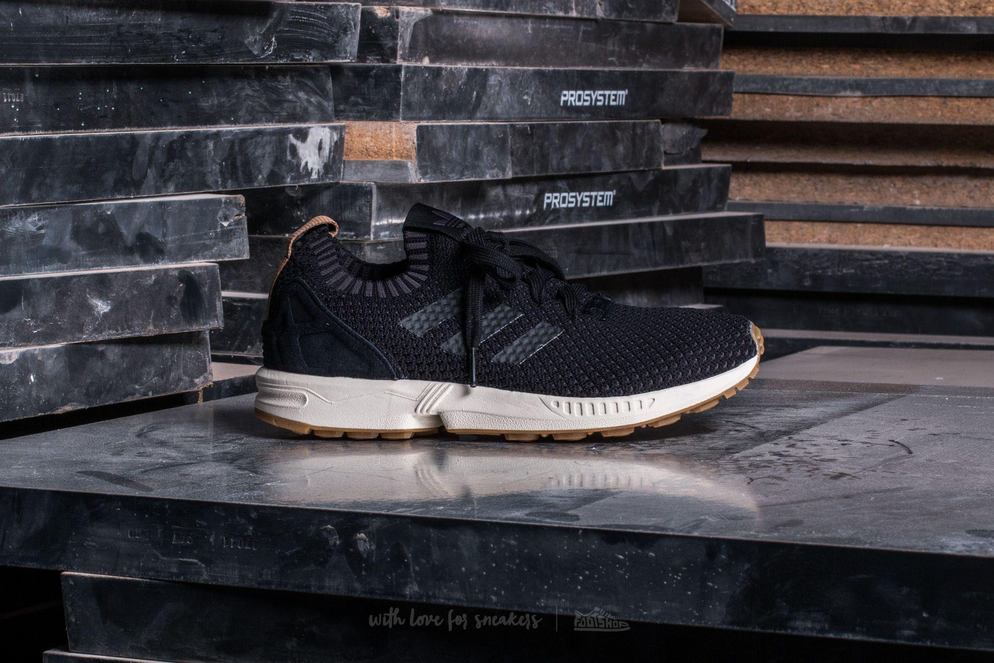 ff2bd4b3d7 adidas ZX Flux Primeknit Core Black/ Core Black/ Gum | Footshop