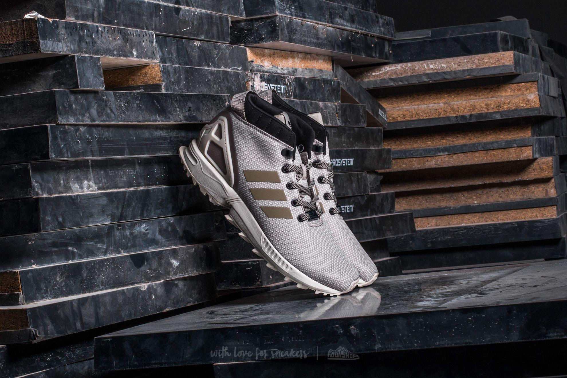 adidas ZX FLUX 58 TR Light Brown Clear Brown Core Black | Footshop
