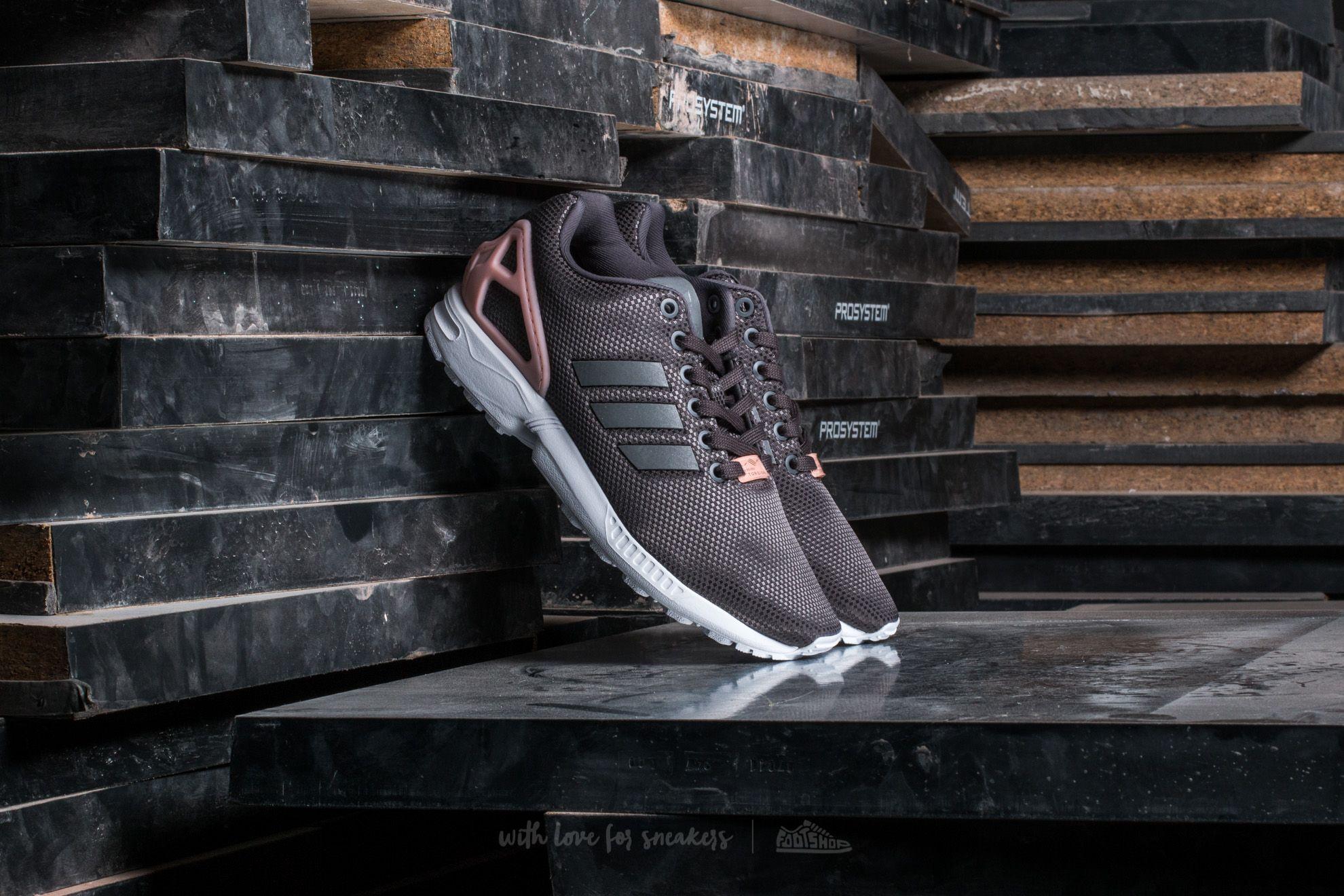 Frauen adidas ZX Flux W Granit/ SilverMT/ CoreBlack