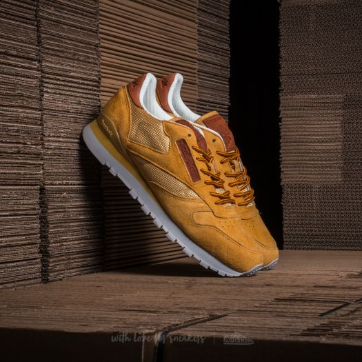 Reebok Classic Leather OL Golden Wheat Steel Gold   Footshop