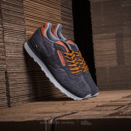 Reebok Classic Leather OL Ash Grey Steel Blue | Footshop