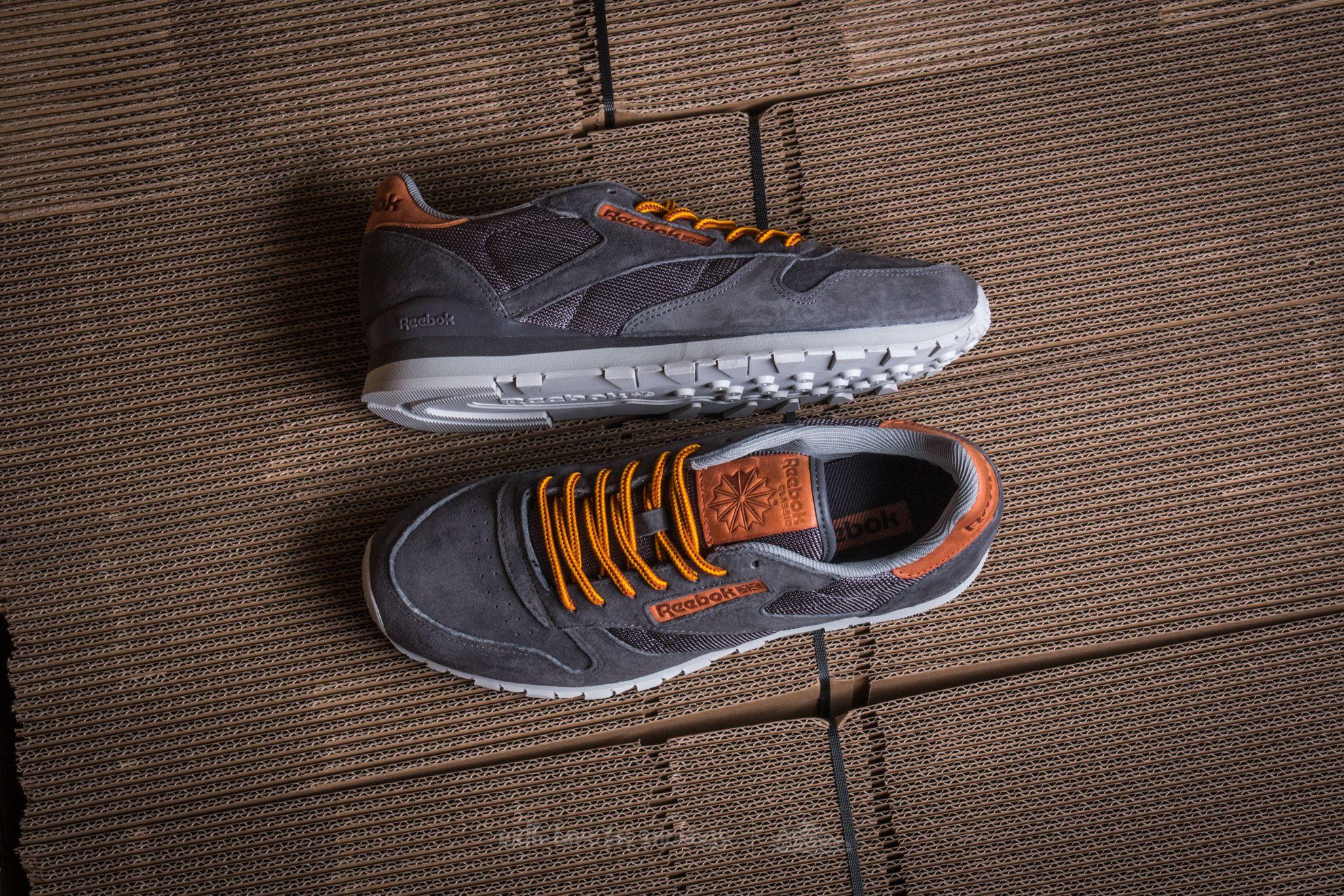 Reebok Shoes Cl Leather Ol (ash greysteelblue)
