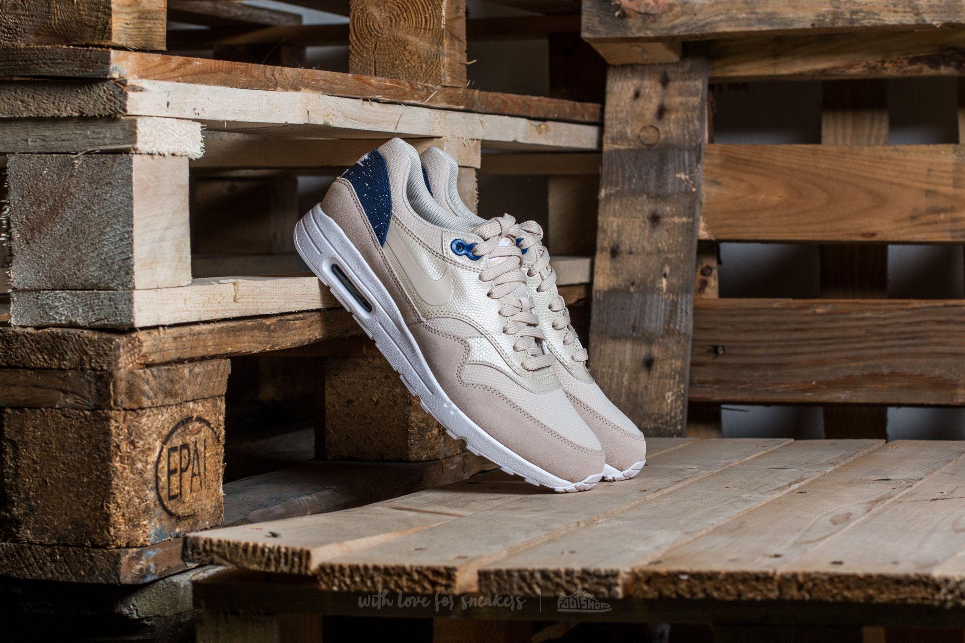 Nike W Air Max 1 Ultra 2.0 Oatmeal/ Oatmeal-Binary Blue