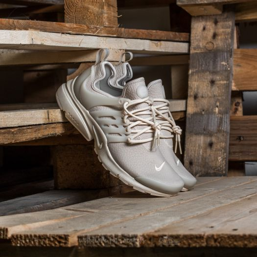 Nike W Air Presto Premium Oatmeal Oatmeal White   Footshop