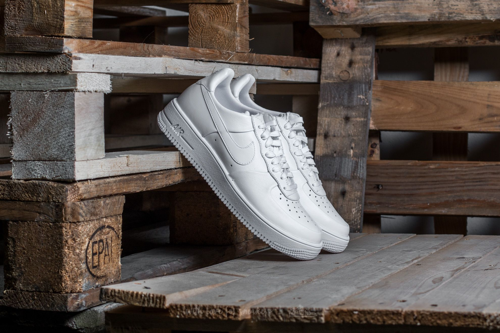 super popular 1c20b dbd3a Nike Air Force 1 Ultraforce Leather. White  ...