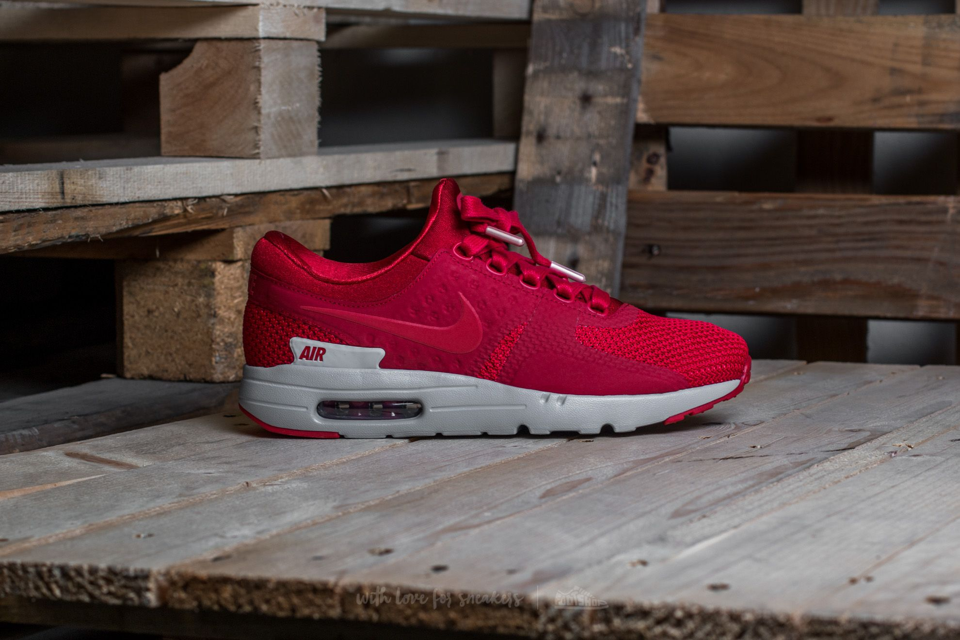 Nike Air Max Zero Premium Gym Red Gym Red Wolf Grey | Footshop