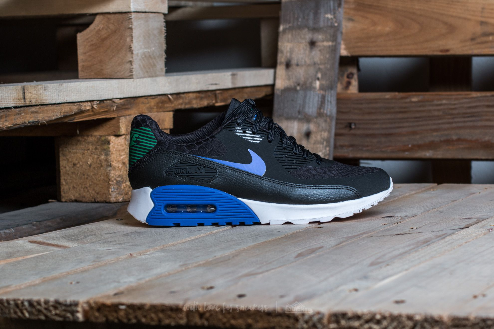 Nike W Air Max 90 Ultra 2.0 Black Paramount Blue white for