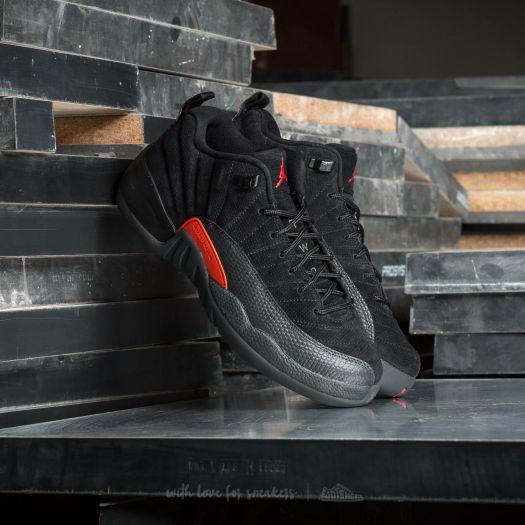 Chaussures et baskets homme Air Jordan 12 Retro Low Black