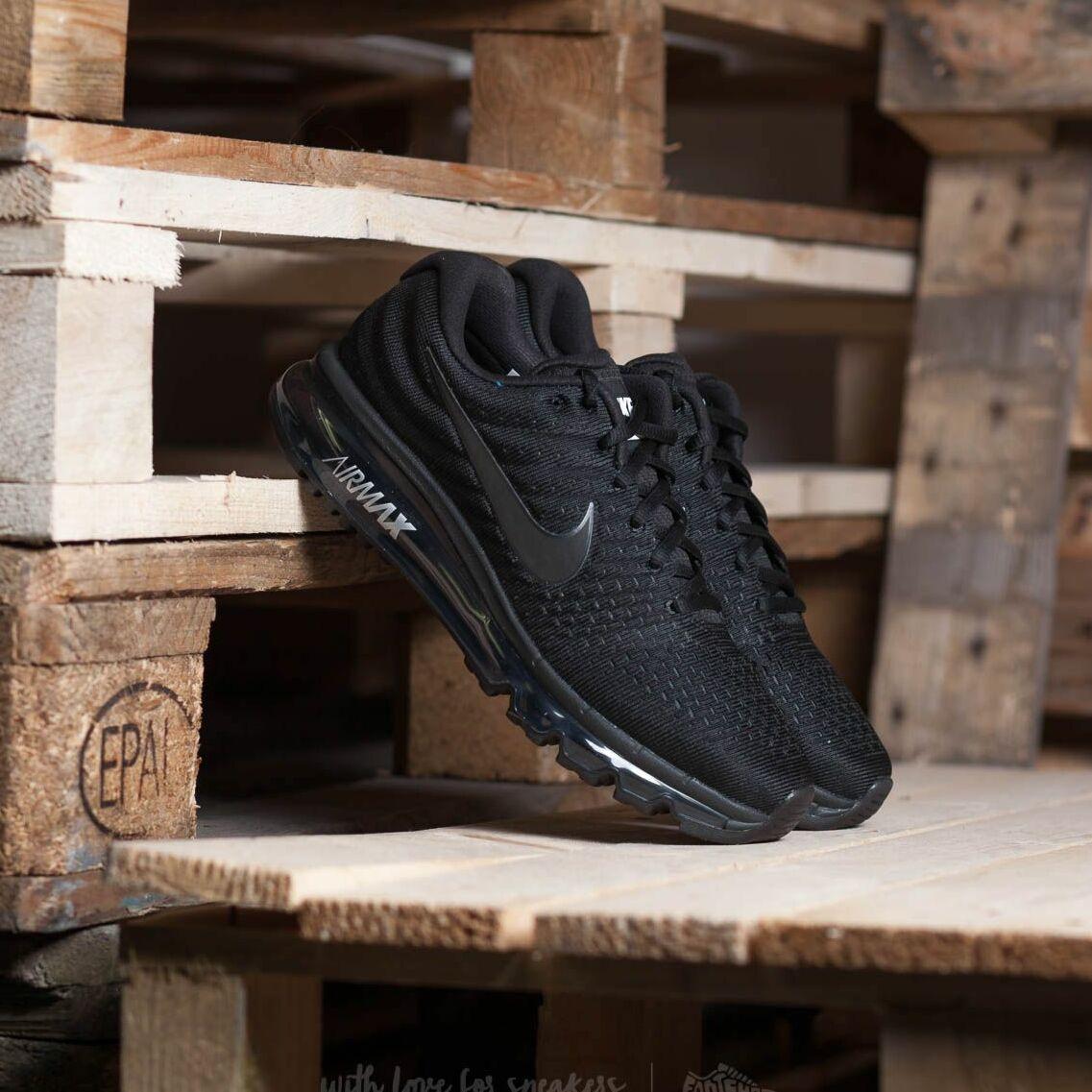 Nike Wmns Air Max 2017 Black/ Black/ Black EUR 38