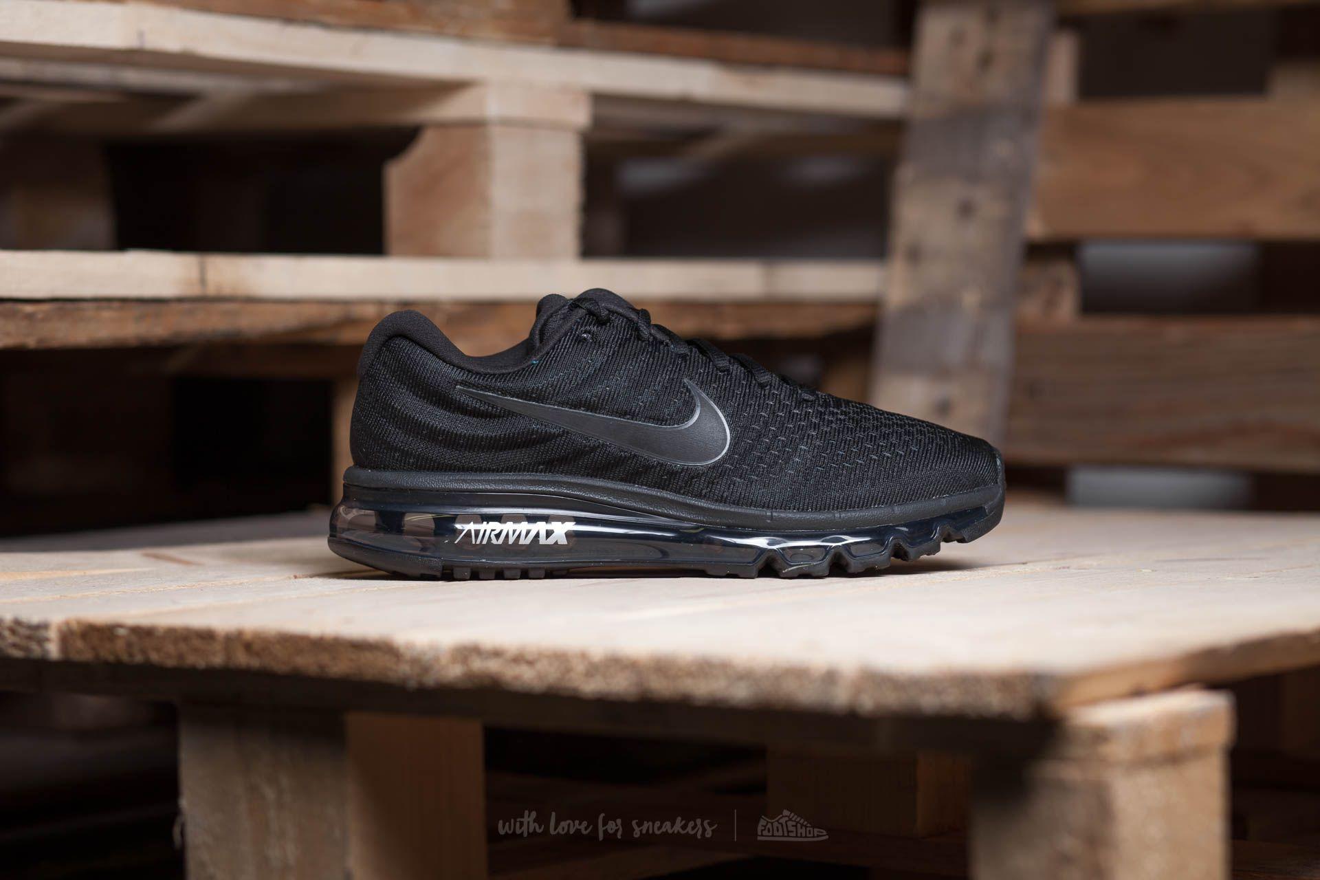 Nike Wmns Air Max 2017 Black Black Black | Footshop