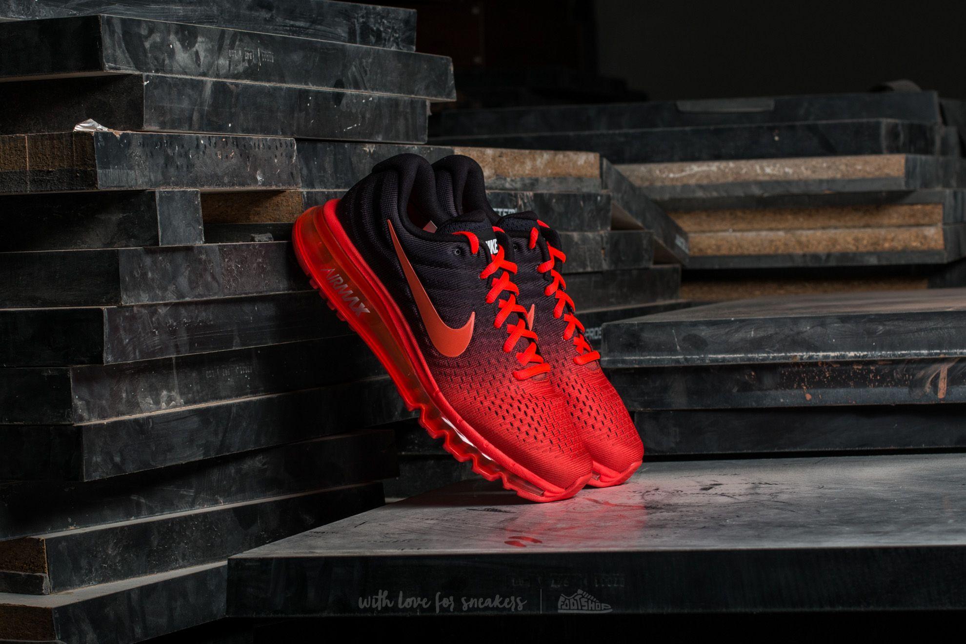 a5b0802e72 Nike Air Max 2017 Bright Crimson/ Total Crimson | Footshop