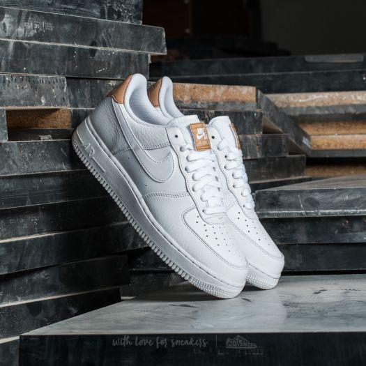 Nike Air Force 1 '07 LV8 White White White Vachetta Tan | Footshop