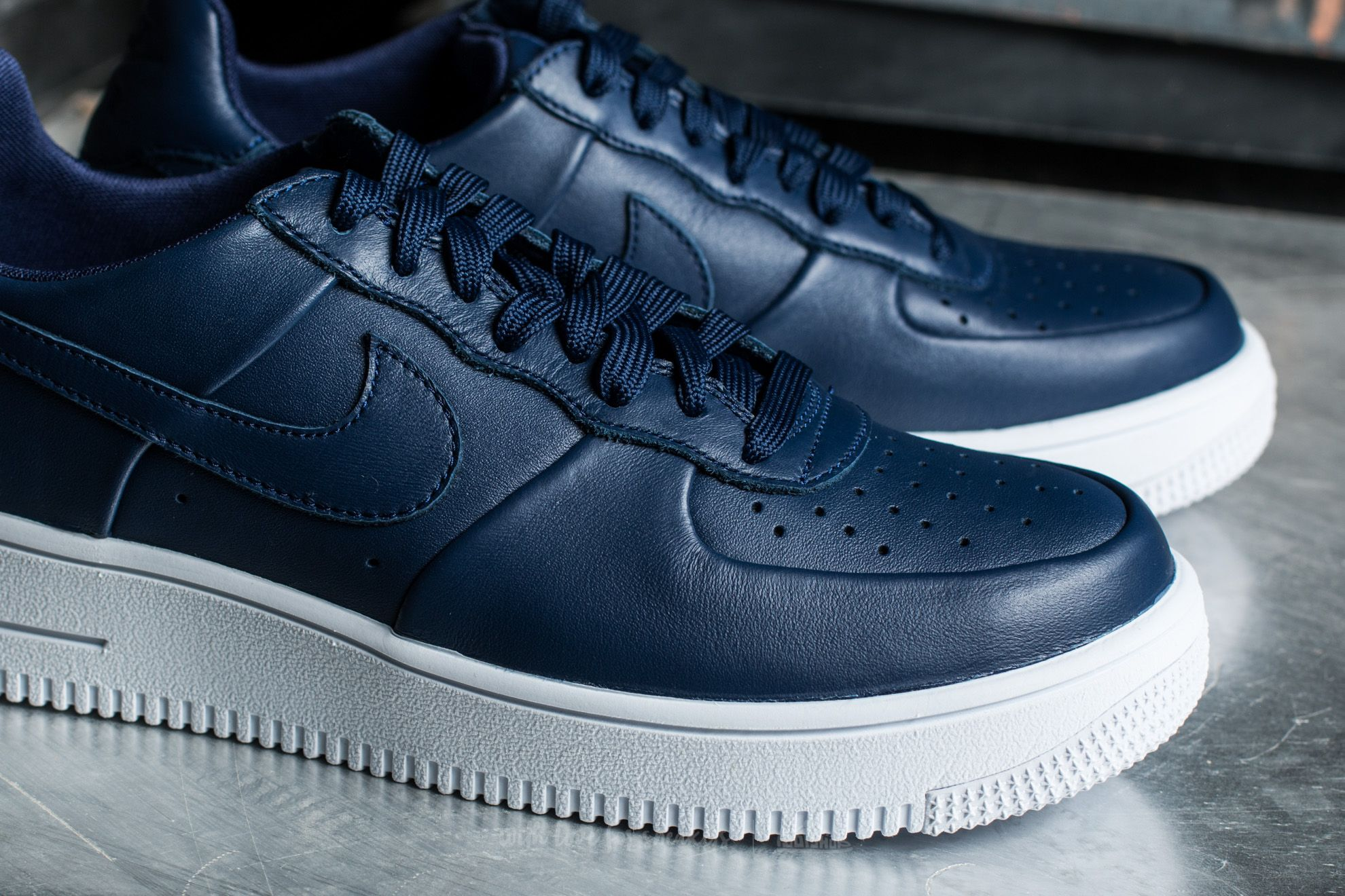 Nike Air Force 1 Ultraforce Leather Uomo, Binary Blue White